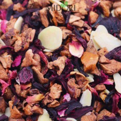 Herbata owocowa wiśnia z granatem, Wiśniowa herbata owocowa, Mieszanka owocowa wiśnia z granatem, herbata wiśniowa, herbata z granatem