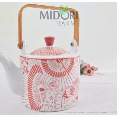 Shiki Teapot Red Umbrella