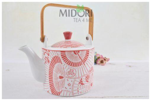 Shiki Teapot Red Umbrella, dzbanek do herbaty shiki