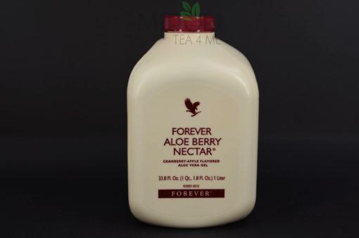 Miąższ aloe vera z sokiem z żurawin i jabłek, Forever Aloe Berry Nectar, Miąższ aloe vera z sokiem z żurawin
