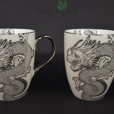 Nippon Platinum Mug Dragon, Kubki Dragon Tokyo Design Studio