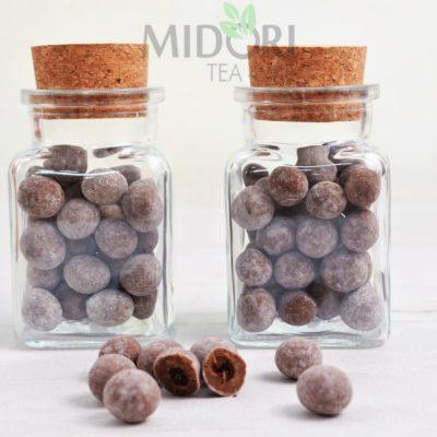 Ziarna kawy w mlecznej czekoladzie, kawa w czekoladzie