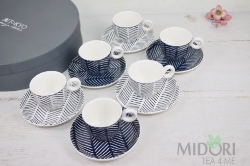 bleu de'nimes espresso, zestaw do espresso, tokyo design studio