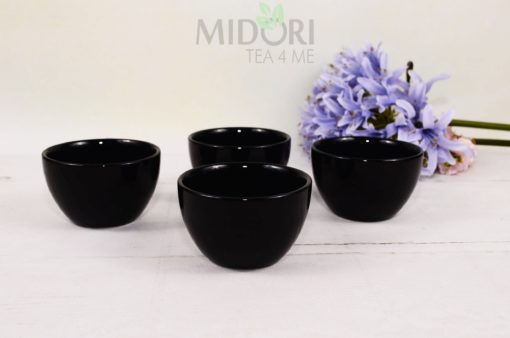 Black Series Tea Cup, Czarne czarki Tokyo Design Studio, czarne czarki oriental selection