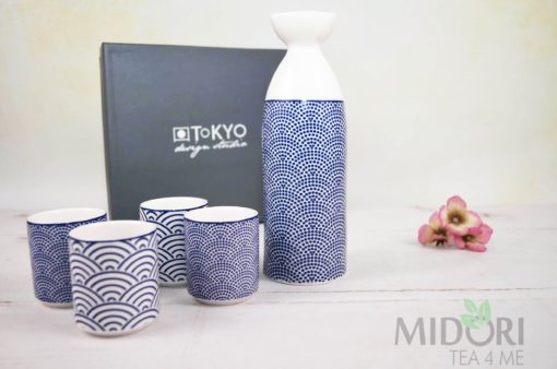 Nippon Blue Sake Set, Komplet do Sake Tokyo Design Studio