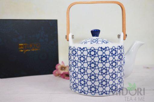 Imbryk Nippon Blue, porcelana japońska, japońska porcelana