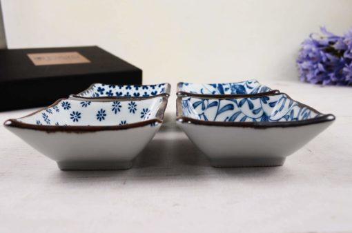 Kwadratowe miseczki do dipów, Square Bowl Set, Tokyo Design Studio