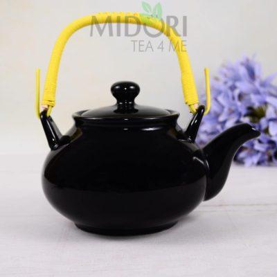Czarny Czajnik Oriental Selection, porcelanowy czajnik tokyo design, Black Series Tea Pot, czarny imbryk, czarny dzbanek, czarny porcelanowy dzbanek