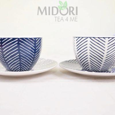Filiżanka ze spodkiem, Bleu de'Nimes, tokyo design studio, tokyo design, ceramika japońska, japońska ceramika, porcelana japońska, porcelana sklep, ceramika sklep