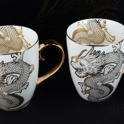 Nippon Gold Mug Dragon