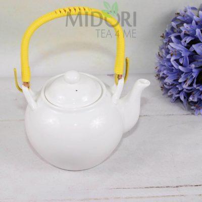 biały czajnik oriental selection, Biały Imbryk Tokyo Design Studio, White Serie Tea Pot, DZBANEK TOKYO DESIGN STUDIO, BIAŁY IMBRYK