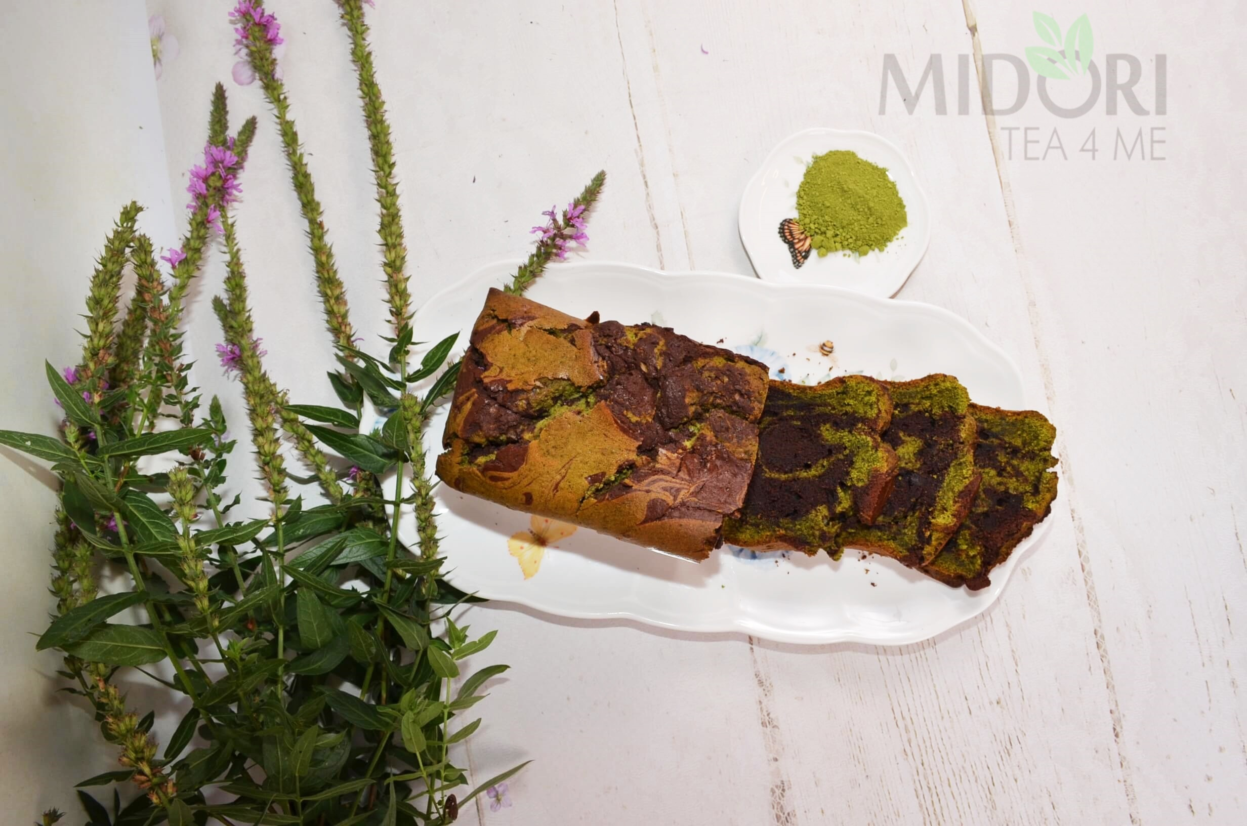 czekoladowe ciasto, czekoladowe ciasto matcha, ciasto z zieloną herbatą