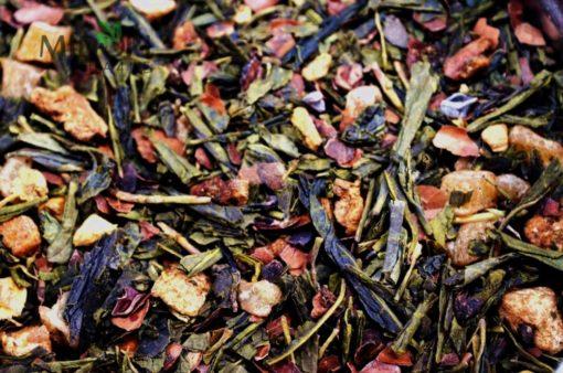 Zielona herbata z gruszką Imbirem i Czekoladą, Zielona herbata z gruszką, czekoladowa herbata, herbata z gruszką, herbata z imbirem, HERBATA IMBIROWA