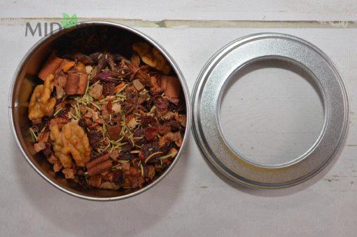 świąteczna herbata, zimowa herbata, grudniowa herbata, rozgrzewająca herbata, herbata na zimę, herbata na jesień, herbata rozgrzewająca na zimę, Świąteczna herbata owocowa