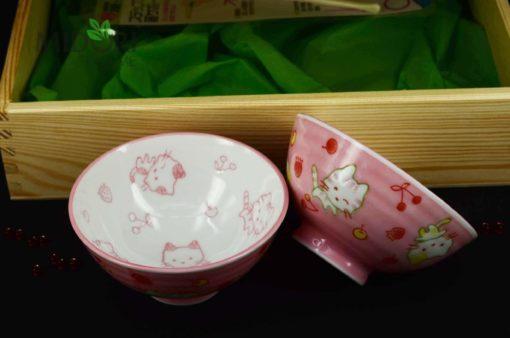 prezent dla dziecka, Japoński zestaw z ceramiką