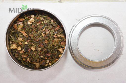 zielona herbata z gruszką, herbata z gruszką, herbata zimowa, herbaty zimowe, zimowe herbaty, jesienna herbata, rozgrzewająca herbata