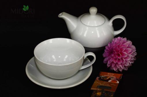 Zestaw Tea For One, Czajnik z filiżanką, komplet tea for one, czajniczek z filiżanką, czajnik z filiżanką