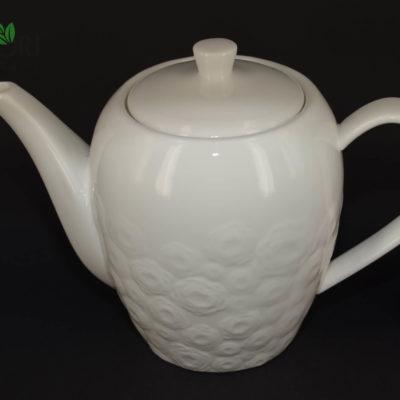 dzbanek do herbaty, dzbanek do kawy, dzbanek na prezent, dzbanek w kwiaty, dzbanek z tłoczeniem, porcelanowy dzbanek do kawy, porcelanowy dzbanek do herbaty