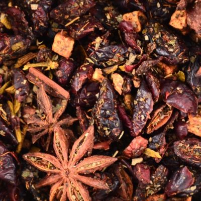 Herbata owocowa Merry Cranberry, mieszanka owocowa, pikantna owocowa herbata, Mieszanka owocowa Merry Cranberry, pikantna herbata, sklep z herbatą