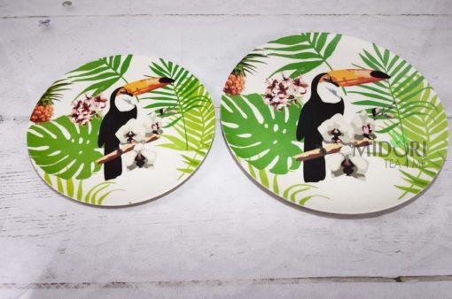 Ekologiczne talerze Bamboo Tukan, ekologiczne talerze, talerze eko, eko talerze, ekologiczne talerzyki, talerze z bambusa, talerze z włókna bambusowego, talerze bambusowe