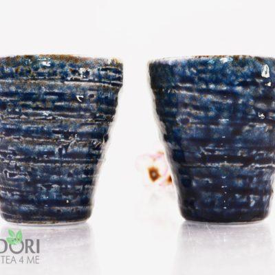 Niebieski kubek do herbaty Oribe, Niebieski kubek do herbaty, Oribe, Niebieski kubek do herbaty Oribe