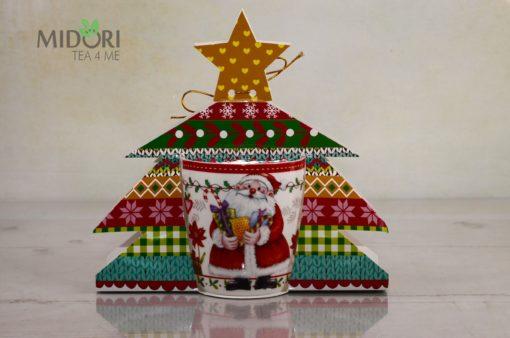 kubek świąteczny, porcelanowy kubek świąteczny, kubek na mikołajki, kubek pod choinkę, kubek dla dziecka, upominek na mikołajki, upominek pod choinkę, kubek porcelanowy na prezent, kubek na prezent