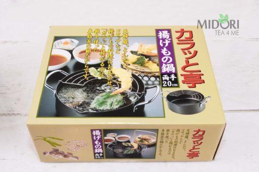 garnek do tempury, praktyczny garnek, japoński garnek, naczynie do tempury, tempura garnek,