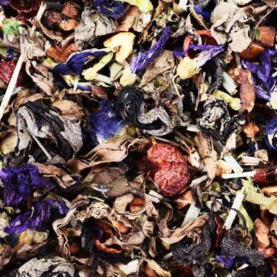 ziołowa herbata jagodowa, herbata owocowa, najlepsza herbata ziołowa, dobra herbata, zdrowa herbata
