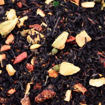Czarna herbata z jagodami Goji, Czarna herbata, herbata z jagodami Goji, herbata czarna z jagodami goji
