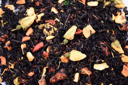 Czarna herbata z jagodami Goji, jagody goji, herbata smakowa, herbata owocowa, herbata z owocami, czarna herbata owocowa, herbata z owocami goji