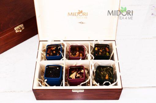 zestaw herbat na prezent, herbata na prezent, herbaty na prezent, zestaw herbat, herbata w skrzynce, herbata w drewnianej skrzynce