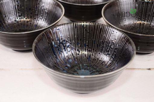 Orientalna miska Sky Blue, piękna ceramika, japońska ceramika, ceramiczna miska, zastawy stołowe, porcelanowa miska, miska porcelanowa, Tokyo Design Studio