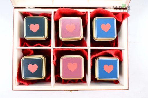 Herbata na Walentynki, Zestaw herbat na Walentynki, prezent na walentynki, upominek na Walentynki, walentynkowy prezent, herbatka dla zakochanych