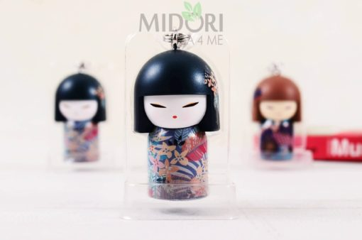 Breloczek Kimmidoll Collection, Breloczek KokeshiKana, breloczek do kluczy, japońskie gadżety, japoński prezent, sklep japoński, japońskie prezenty