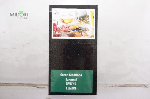 Ekspresowa Sencha Cytrynowa, Premium Tea Bags, herbata naturalna, zielona herbata sencha, naturalne herbaty, herbata w torebkach, sencha lemon
