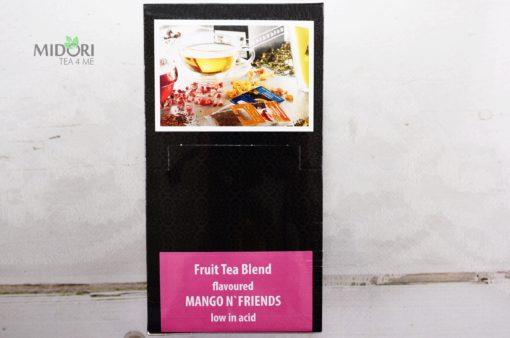 Ekspresowa herbata owocowa z mango, Premium Tea Bags, herbata naturalna, znaturalna herbata owocowa, naturalne herbaty, herbata w torebkach, SWEET MANGO