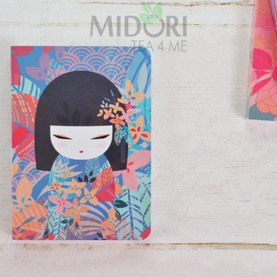 Notes Kimmidoll Collection, Notes Kokeshi, japoński notatnik, pamiętnik dla dziewczynki, japońskie gadżety, kimmidoll notes, notes kimmidoll