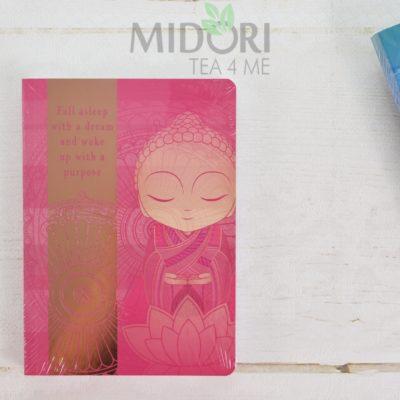 Notes Little Buddha Collection, Notes japoński, japońskie gadżety, japońskie gadżety, japoński prezent, notatnik z sentencją, japoński upominek