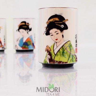 Porcelanowy kubek Japońska Gejsza, japoński kubek, kubek z japonii, japońska porcelana, kubek na prezent, porcelaowy kubeczek, kubek z porcelany