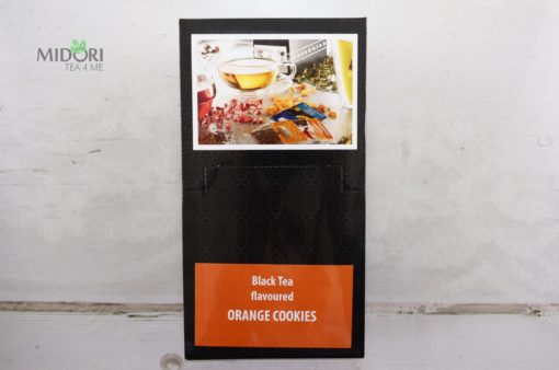 Czarna herbata ekspresowa z pomarańczą, Premium Tea Bags, herbata naturalna, ekspresowa herbata, naturalne herbaty, Czarna herbata smakowa