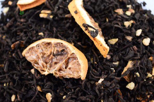 Herbata Pu-Erh z cytryną i pomarańczą, pu-erh owocowa, herbata na odchudzanie, herbata odchudzająca, herbata owocowa pu-erh, zdrowa herbata
