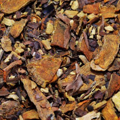 Herbata ziołowa kurkuma z imbirem, herbata z kurkumą, herbata z imbirem, herbata na przeziębienie, herbata ziołowa, zdrowa herbata