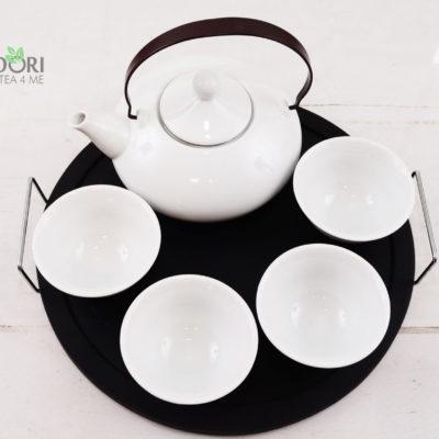 Zestaw do herbaty, komplet do parzenia herbaty, zestaw do parzenia herbaty, zestaw do herbaty z tacą, komplet do herbaty z tacą, ceramika japońska