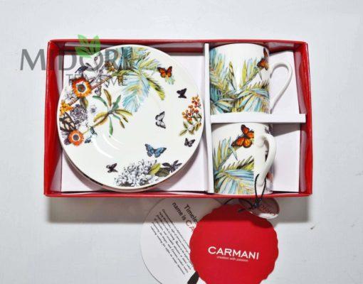 Komplet do Espresso Butterfly, Carmani 2