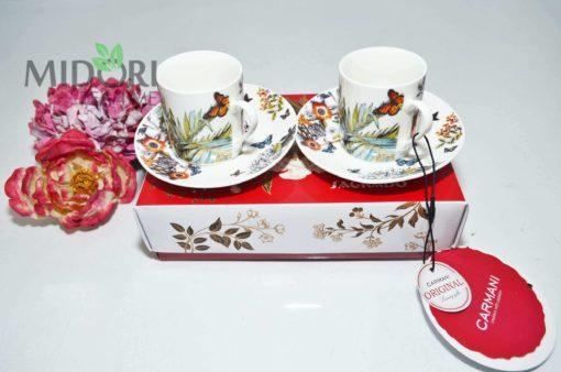 Komplet do Espresso Butterfly, Carmani 21