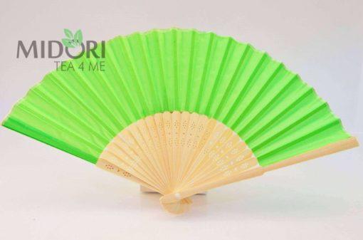 Wachlarz Orientalny, zielony 1