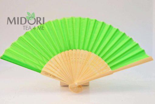 Wachlarz Orientalny, zielony 3