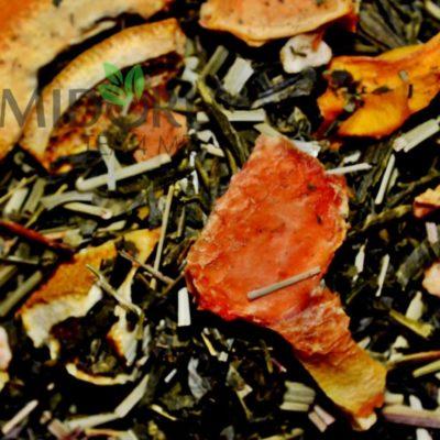 Zielona Herbata Sencha z Mango i Papają 5