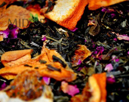 Zielona i biała herbata z pomarańczą i papają Rajski Ptak 5