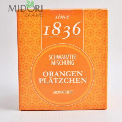 Czarna herbata Pomarańczowe Ciasteczka 2